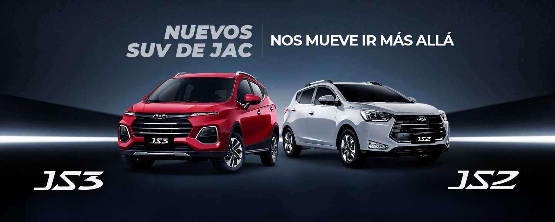 NUEVOS SUV DE JAC JS2 Y JS3  seguridad diseño espacio conectividad multimedia Apple Carplay Android Auto
