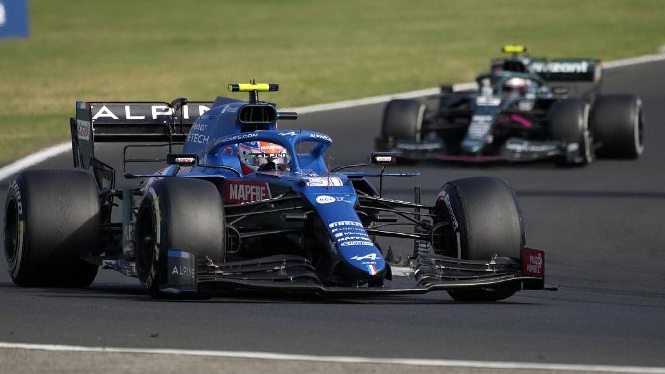 Renault y Alpine destacan en la fecha de Hungría de Formula 1