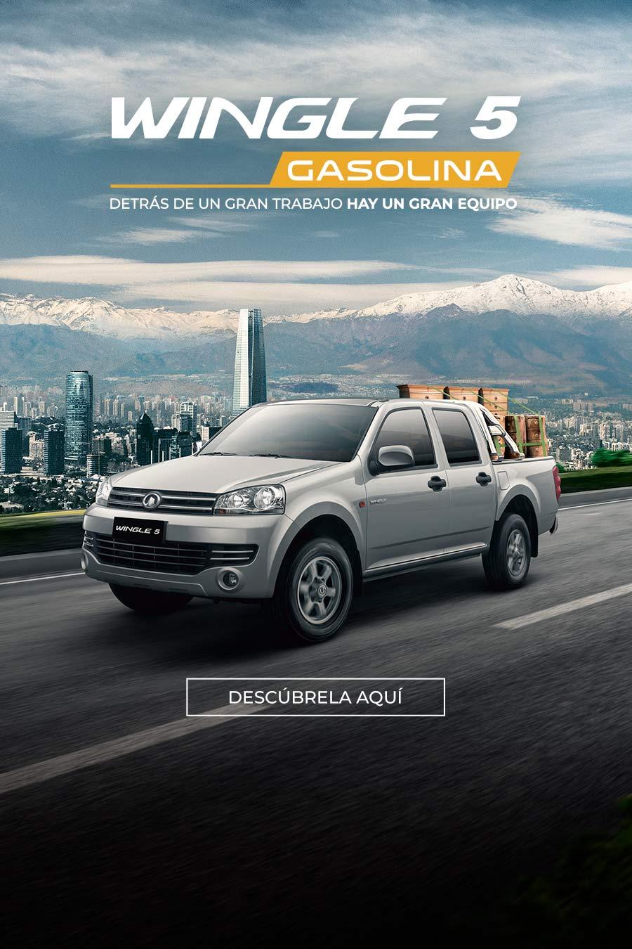 Mobile-btn Wingle 5 gasolina