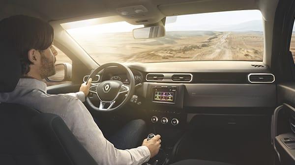Renault All New Duster, Un interior totalmente renovado Para tu comodidad a bordo, el nuevo interior se reinventa con nuevos asientos ajustables, un nuevo tablero ergonómico y nueva consola central.