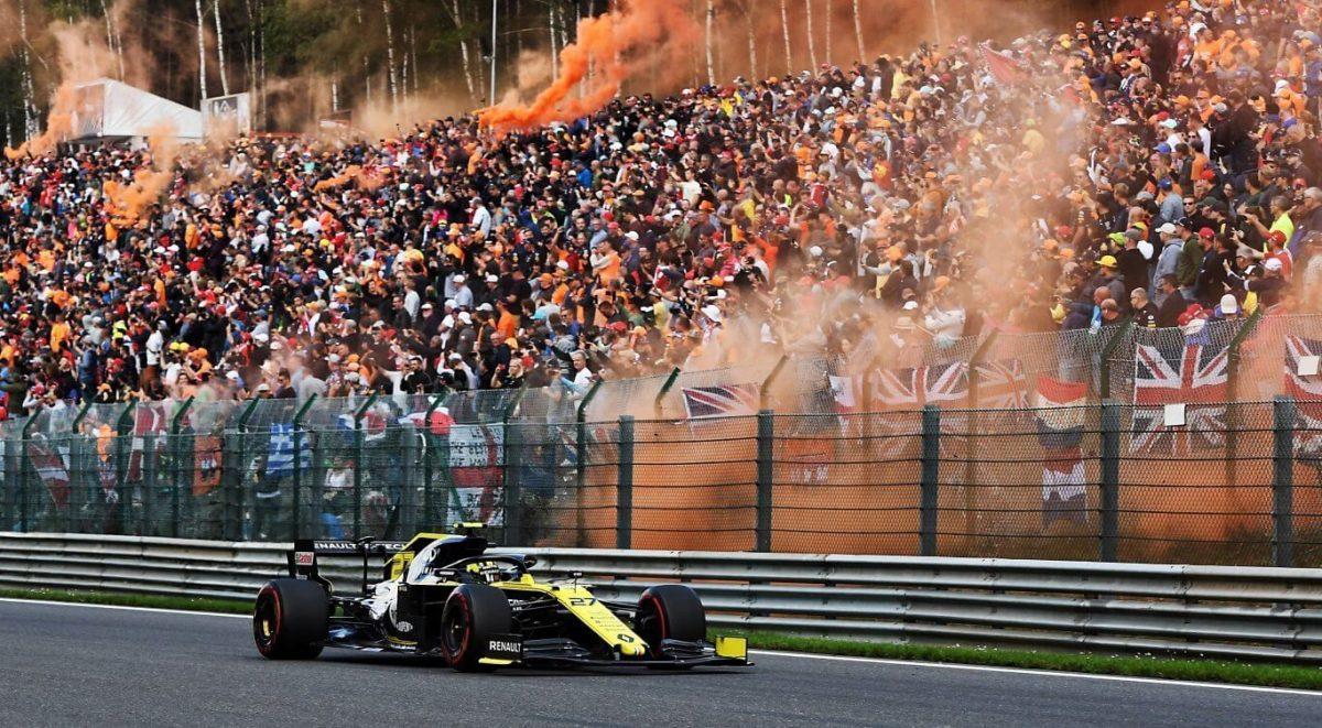 Renault F1 Team dedica puntos al piloto de la Renault Sport Academy