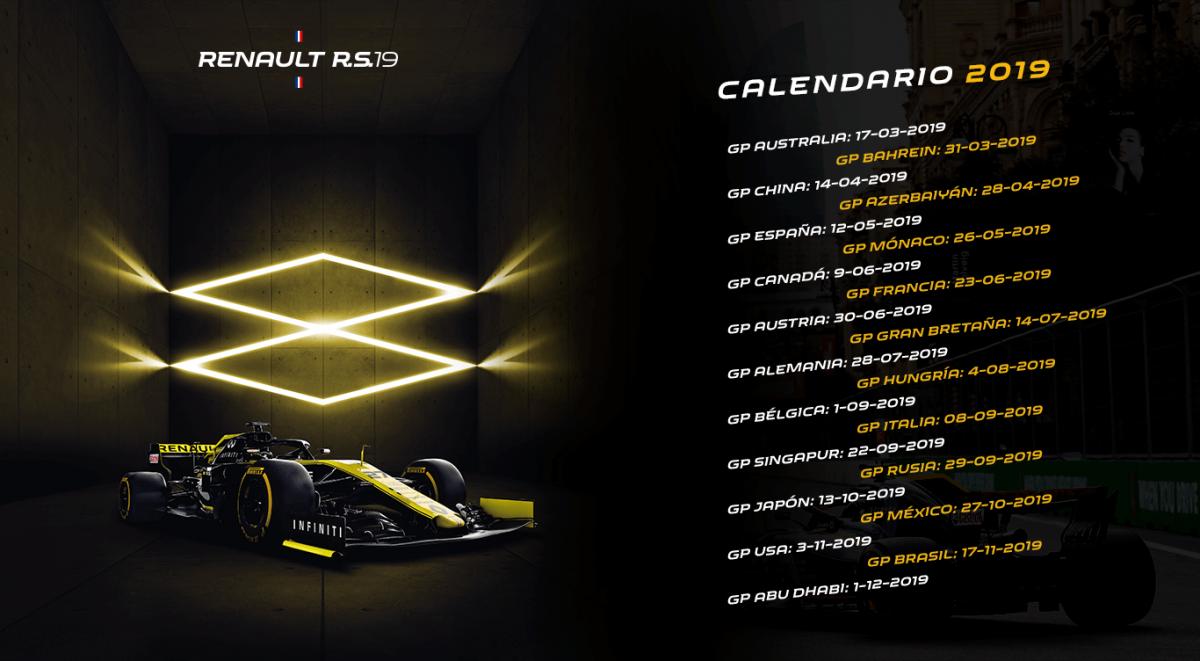 Por fin vuelve la F1. La temporada 2019 comienza este fin de semana.