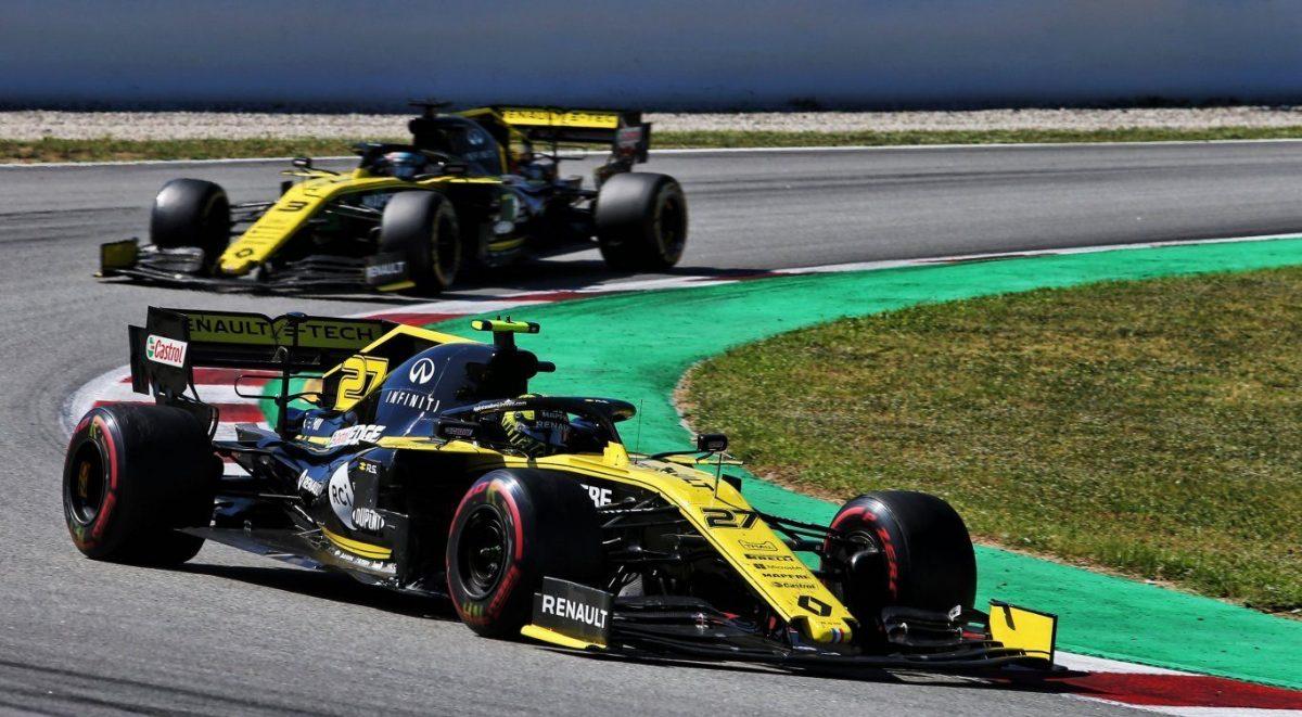 Renault F1 Team sigue presionando