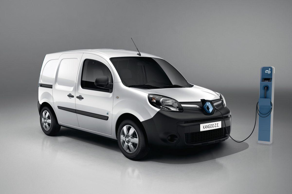 Renault Kangoo ZE líder de vehículos comerciales eléctricos en 2019