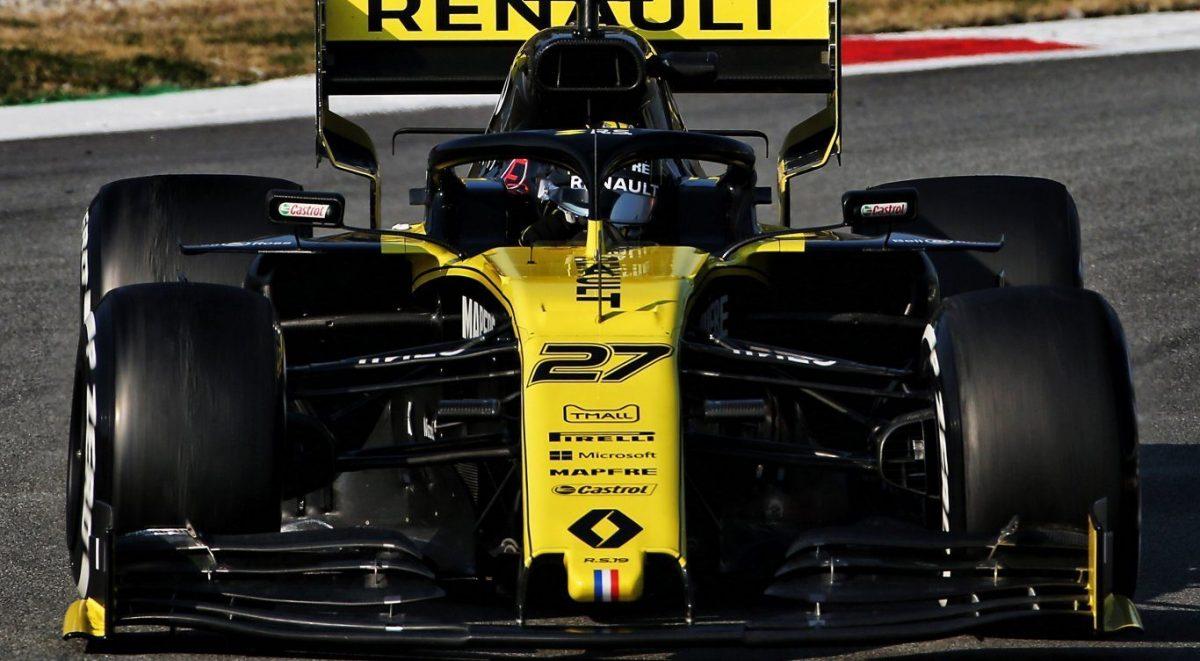 Pre-temporada Renault F1 Team