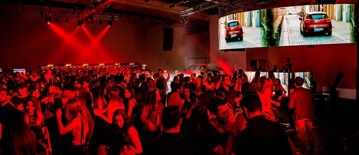 Renault: música y pasión en Club de Baile