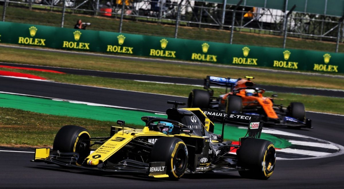 Renault F1 Team logra doble puntaje