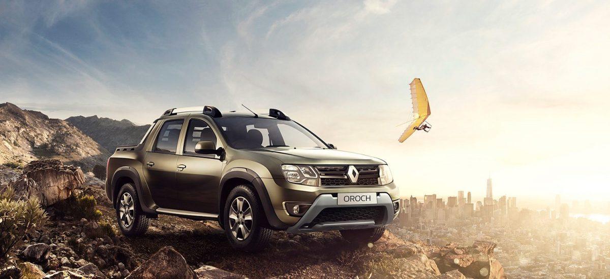 Renault Oroch 4WD más versátil